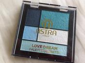 Astra love dream palette: Aqua review swatch