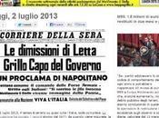 """Beppe Grillo choc: """"Napolitano sciolga Camere"""""""