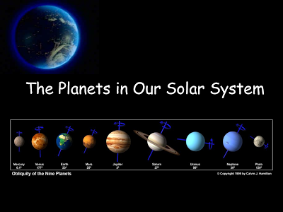 Come ricordare l'ordine dei pianeti del sistema solare ...