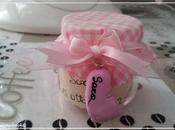 Bomboniere vasetti degli omogeneizzati Sara! Sara's birth favours with recycled baby food jars