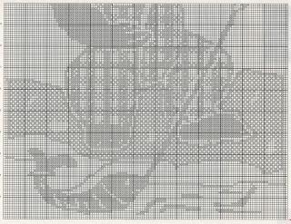 Schemi Per Il Filet Copertina Per Il Bimbo Con Orsetto Paperblog