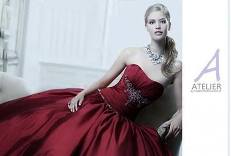 cheap for discount d9a7f 1eff0 Abiti da sposa rossi 2014 vestiti eleganti per ogni ...