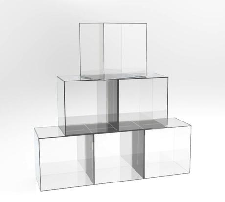 Cubi in plexiglass ikea terminali antivento per stufe a for Mensole luminose ikea
