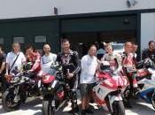 Misano campioni motociclismo provano moto Di.Di.