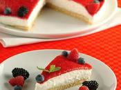 Torta fresca frutti bosco
