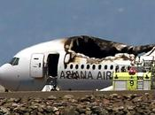 Incidente aereo Francisco, video dell'impatto Video