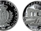 moneta Festival centenario conio Marino