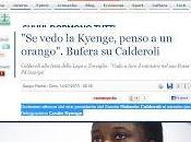 Calderoli, Kyenge l'orango