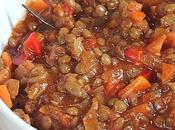 Ragù vegetale lenticchie