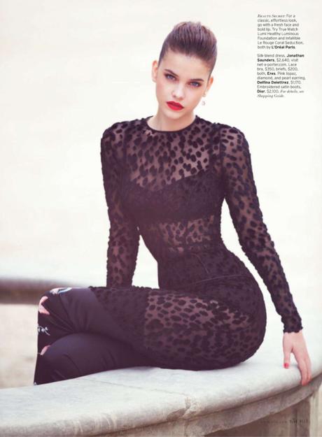 Barbara Palvin by David Bellemere for Elle US 2013