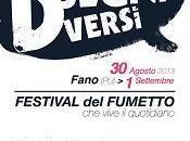 """agosto seconda edizione """"Disegni Diversi, Festival fumetto vive quotidiano"""""""