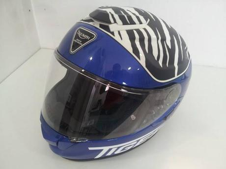 Shoei gt air quot triumph tiger quot 2013 by jota designs aerografia