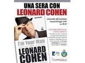omaggio grande poeta canadese Leonard Cohen