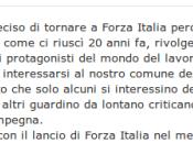 Berlusconi: Settembre Forza Italia 2.0!