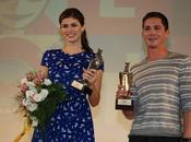 """Percy Jackson dell'Olimpo: mare mostri"""" Logan Lerman Alexandra Daddario incontrano Giffoni Film Festival"""