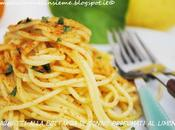 Spaghetti alla bottarga tonno profumati agli agrumi