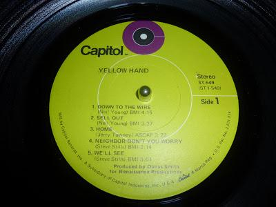 The Yellow Hand - S/t
