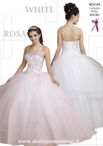 Sempre più di tendenza gli abiti da sposa colorati nuances romantiche