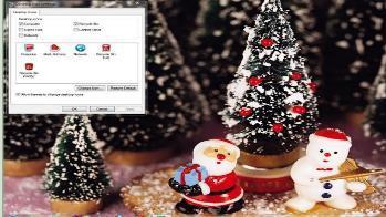 Sfondi Natalizi Gratis Per Windows 7.Natale Icone Sfondi Puntatori E Cartoline Per Gli Auguri Paperblog