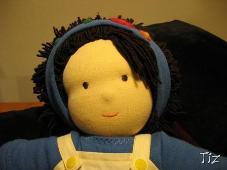 Circa otto o nove anni fa ho acquistato un libro per creare bambole