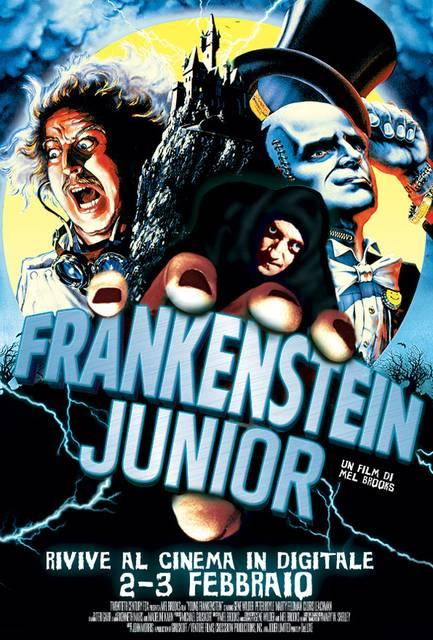 Frankenstein Junior Poster Italia 01