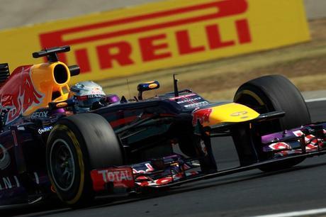 2013-Hungarian-GP-Friday-S-Vettel-on-track