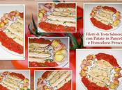 Filetti trota salmonata patate pancetta pomodoro fresco