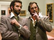 Letteralmente irriconoscibili Christian Bale Bradley Cooper nelle prime immagini American Hustle