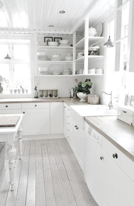 Una casa nordica molto shabby e vintage paperblog - Casa stile nordico ...