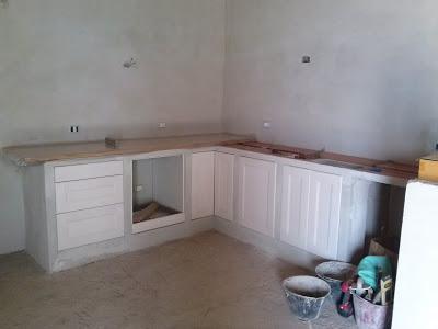 Costruire una cucina in muratura con mobili ikea - Paperblog