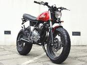 """Yamaha Scorpio """"The Tracker"""" Studio Motor"""