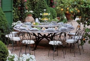 Arredare l 39 esterno con il ferro battuto paperblog - Arredare giardino esterno ...