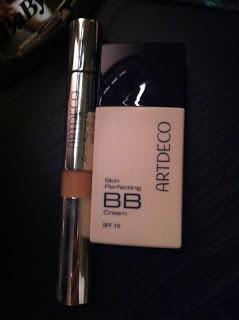 Fondotinta BB Cream Skin Perfecting SPF 15 ArtDeco n° 6 e Anti-Aging Concealer with Lifting Effect ArtDeco