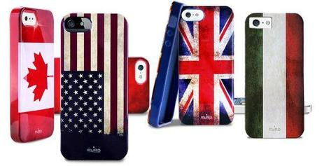 Puro Flag iPhone 5 Cover