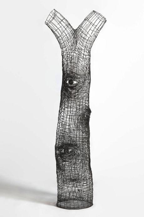 Le bellissime sculture con filo di ferro di glenn murray - Paperblog