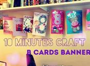 Minutes Craft: Birthday Cards Banner