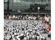 Berlino invasa 1600 panda: l'istallazione festa Germania