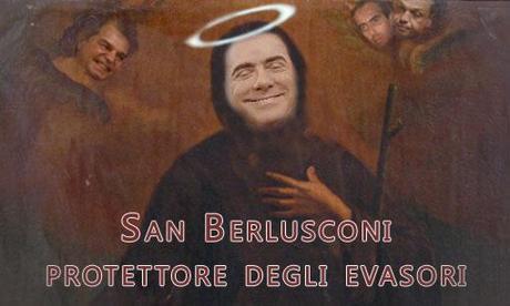 berlusconi santo subito  Beppe Grillo ancora contro Berlusconi e la richiesta della grazia denominata agibilità politica