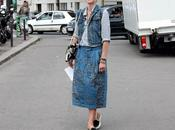 Street...Elisa Nalin...Denim Military Colored Stars, Paris