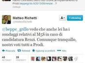 Grillo Renzi gioca memoria