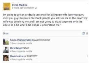 Miami: uccide la moglie e posta le foto su Facebook
