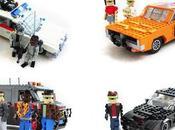 Alcuni famosi veicoli degli anni rifatti LEGO