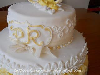 Cake Per 50 Anni Di Matrimonio Paperblog
