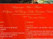 """grande richiesta replica dell'evento """"Lagonegro arte mistero – spasso borgo delle chiese"""""""