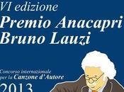 Premio Anacapri Bruno Lauzi Canzone d'Autore edizione, agosto 2013. Condurranno Marino Bartoletti Ceci.