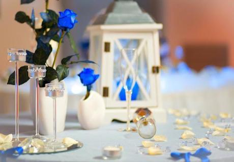 Matrimonio Tema Blu E Bianco : Matrimonio bianco e blu cinzia ludovico paper