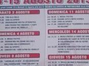 Tutte sagre Mugello Agosto Settembre 2013