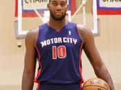 Detroit Pistons Motor City: maglia speciale 2013-14