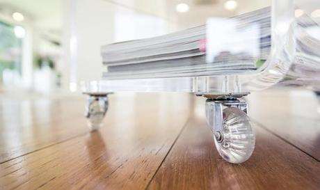 Tavoli e tavolini soggiorno design plexiglass trasparente : produzione ...