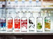 Absolut Vodka flavors bottles